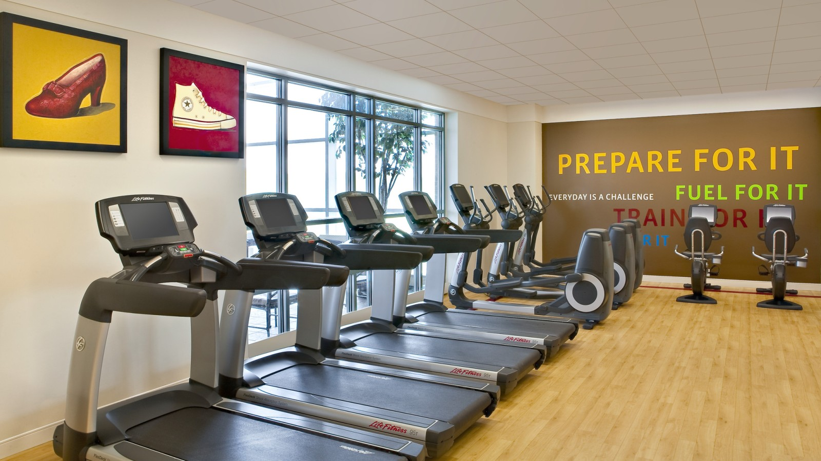 Overland park fitness center hotel gym